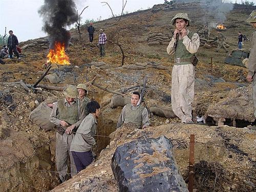 Phim về đề tài chiến tranh: Nhiều sạn vì làm ẩu!