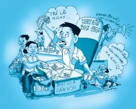 long tham nuoi tin dung den