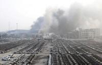 [Chùm ảnh] Thiên Tân - Trung Quốc tan hoang sau 2 vụ nổ chấn động