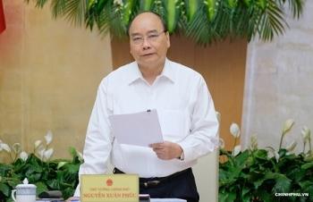noi dung ket luan cua thu tuong tai phien hop chinh phu thuong ky thang 82018