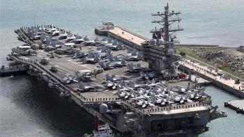 Tàu sân bay USS Ronald Reagan tiến hành tập trận ở Biển Đông