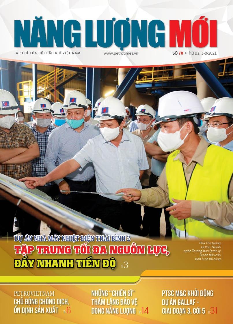 Đón đọc Tạp chí Năng lượng Mới số 70, phát hành thứ Ba ngày 3/8/2021