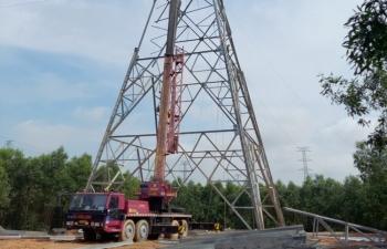 Mặt bằng đường dây 500kV 3 đoạn Vũng Áng – Dốc Sỏi vẫn là thách thức cản trở tiến độ dự án