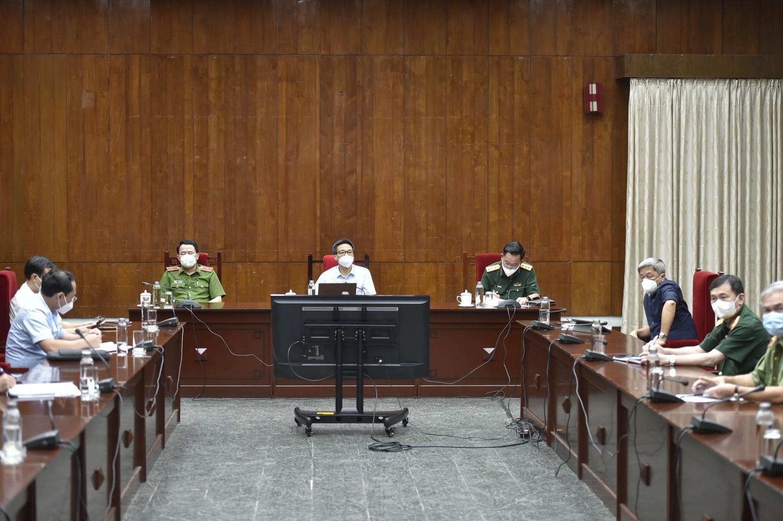 Phó Thủ tướng Vũ Đức Đam lưu ý một số điểm trong thực hiện chỉ đạo về phòng, chống dịch COVID-19