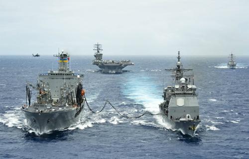 """Hải quân Mỹ và một hạm đội """"xanh"""""""