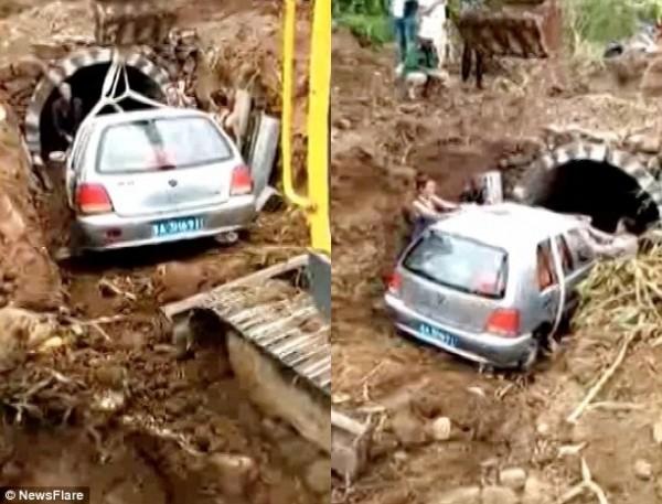 Đám tang kỳ lạ: Người chết được chôn cùng xe ôtô