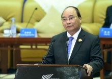 Thủ tướng Nguyễn Xuân Phúc đối thoại với các doanh nghiệp hàng đầu Trung Quốc