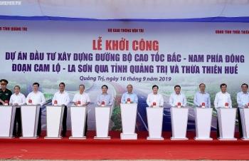 thu tuong phat lenh khoi cong du an dau tien cua tuyen cao toc bac nam