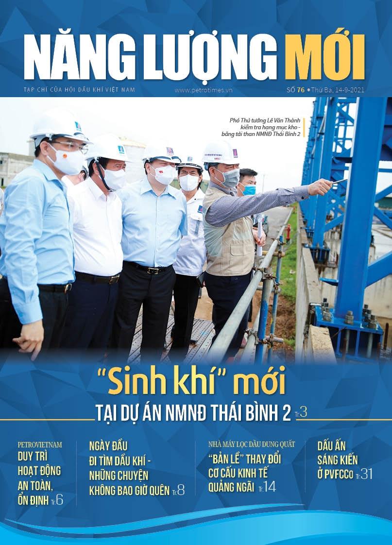 Đón đọc Tạp chí Năng lượng Mới số 76, phát hành thứ Ba ngày 14/9/2021