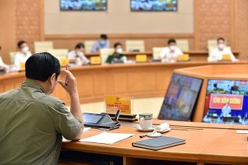 Kết luận của Thủ tướng Chính phủ Phạm Minh Chính tại cuộc họp Ban Chỉ đạo Quốc gia phòng, chống dịch COVID-19