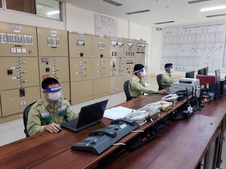 Không để gián đoạn vận hành Trạm biến áp 500kV lớn nhất miền Trung, Tây Nguyên bởi dịch COVID-19