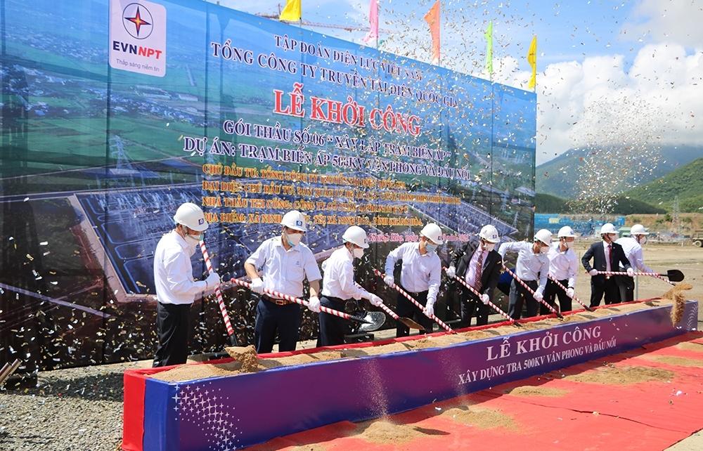 Phát động triển khai thi công Dự án Trạm biến áp 500kV Vân Phong và đấu nối