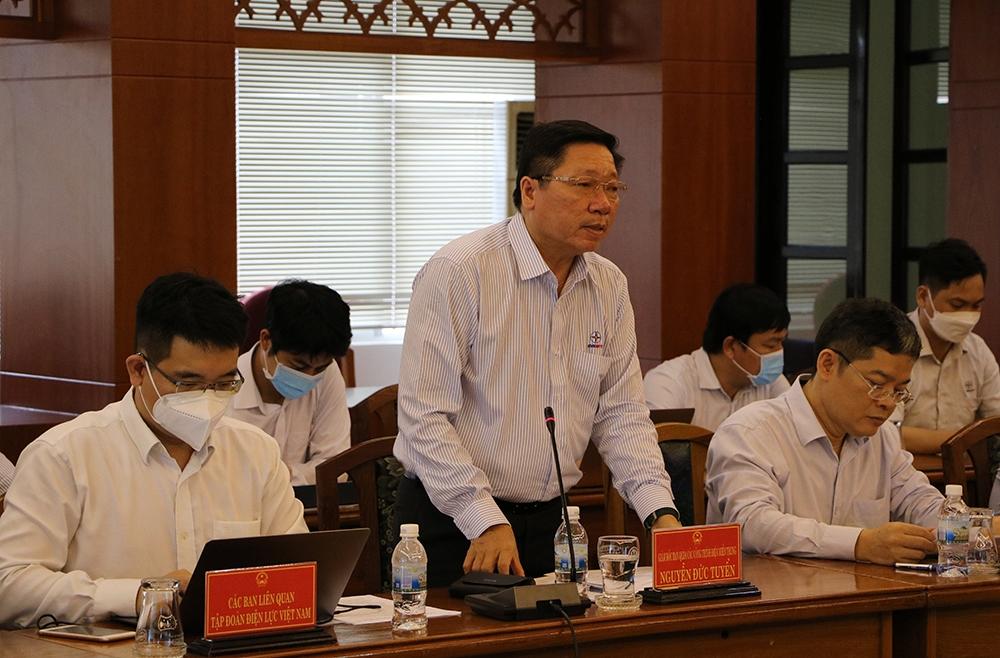 Bàn giải pháp tháo gỡ mặt bằng dự án truyền tải điện trên địa bàn tỉnh Khánh Hòa