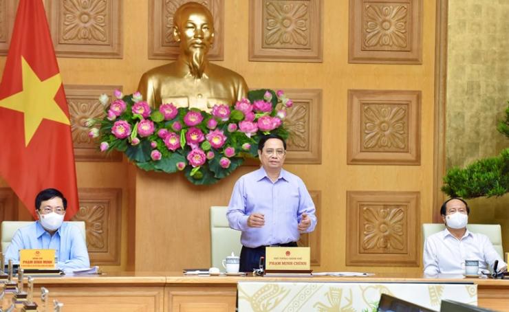 Thủ tướng Phạm Minh Chính chủ trì Hội nghị trực tuyến toàn quốc về giải ngân vốn đầu tư công
