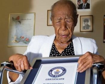 Cụ bà sống thọ nhất thế giới nhờ ăn thịt muối mỗi ngày
