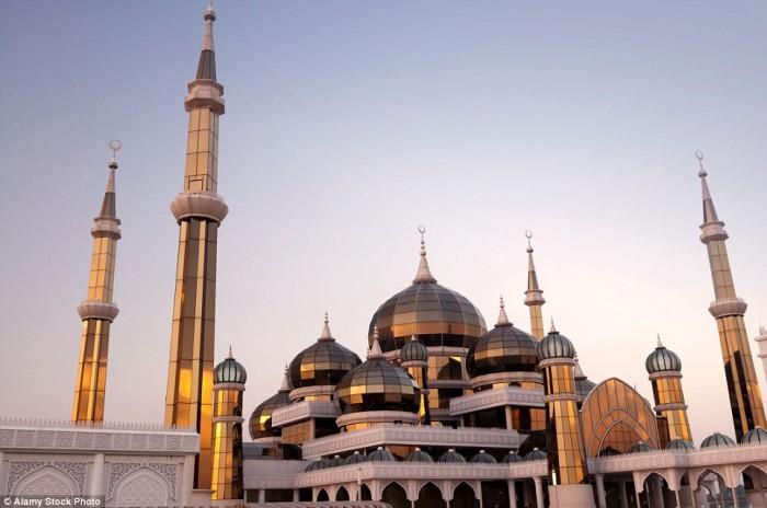 Vẻ đẹp đầy mê hoặc của các nhà thờ Hồi giáo