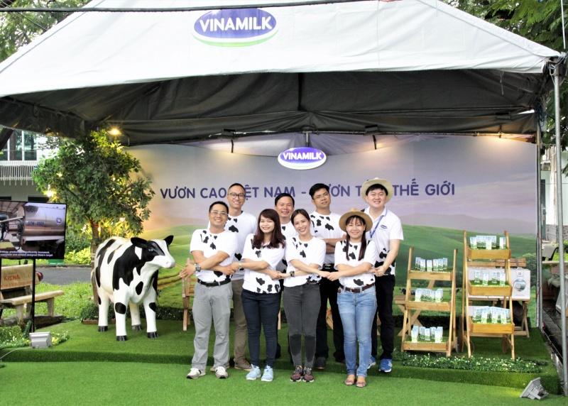 vinamilk dong hanh cung ngay hoi viec lam bach khoa 2017