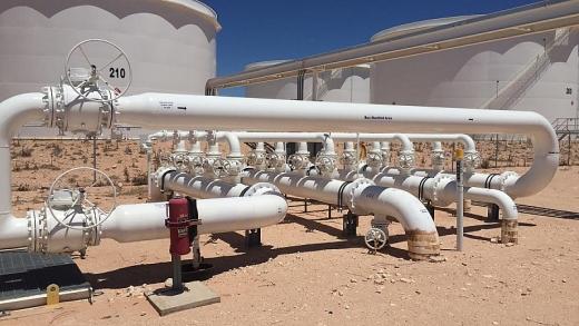 ExxonMobil mua lại kho trạm chứa dầu thô ở Texas
