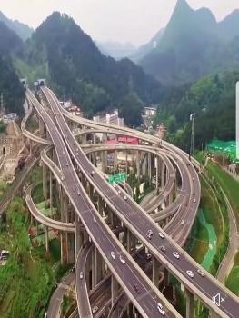"""Chóng mặt với """"ma trận"""" giao lộ ở Trung Quốc"""
