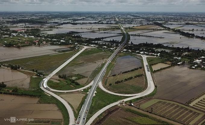 7 dự án cao tốc ở Đồng bằng sông Cửu Long