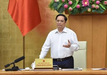 Thủ tướng Phạm Minh Chính làm việc với lãnh đạo chủ chốt tỉnh Thừa Thiên Huế