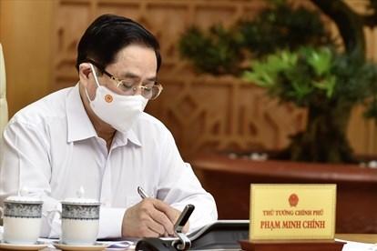 Tặng Bằng khen của Thủ tướng Chính phủ cho một số tập thể, cá nhân xuất sắc trong phòng, chống COVID-19