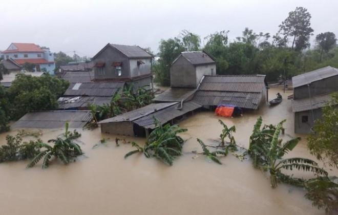 Công điện: Tập trung ứng phó với bão số 8 và mưa lũ sau bão
