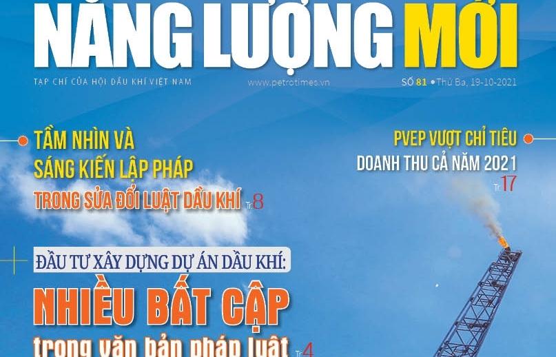 Đón đọc Tạp chí Năng lượng Mới số 81, phát hành thứ Ba ngày 19/10/2021