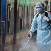 Xuất cấp hóa chất khử khuẩn phòng chống dịch bệnh trong mùa mưa bão