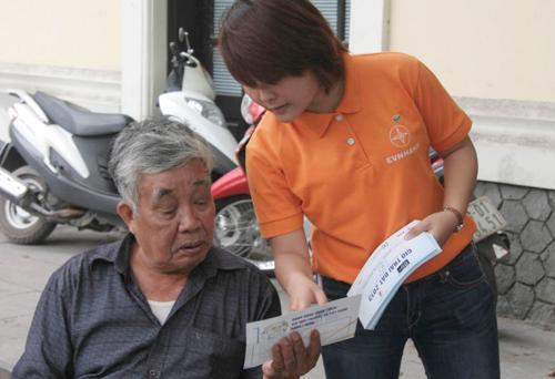 Chuyện tuyên truyền tiết kiệm điện ở EVN HANOI