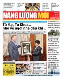 Đón đọc Báo Năng lượng Mới số 377, phát hành thứ Ba ngày 25/11/2014