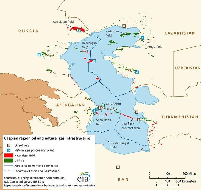 azerbaijan va nga phat trien cac mo khi o phia bac bien caspian