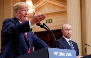 Ông Trump hủy gặp ông Putin vào phút chót vì căng thẳng Nga-Ukraine