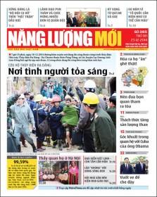 Đón đọc Báo Năng lượng Mới số 385, phát hành thứ Ba ngày 23/12/2014