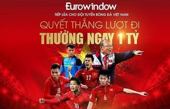 eurowindow nang gia tri tang thuong cau thu len 1 ty dong