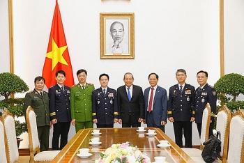 Phó Thủ tướng Thường trực Chính phủ tiếp đoàn đại biểu cấp cao Cơ quan Cảnh sát quốc gia Hàn Quốc