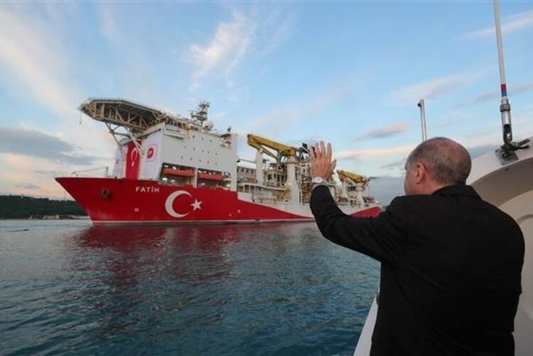 Thổ Nhĩ Kỳ công bố phát hiện mỏ khí đốt tự nhiên ở Biển Đen