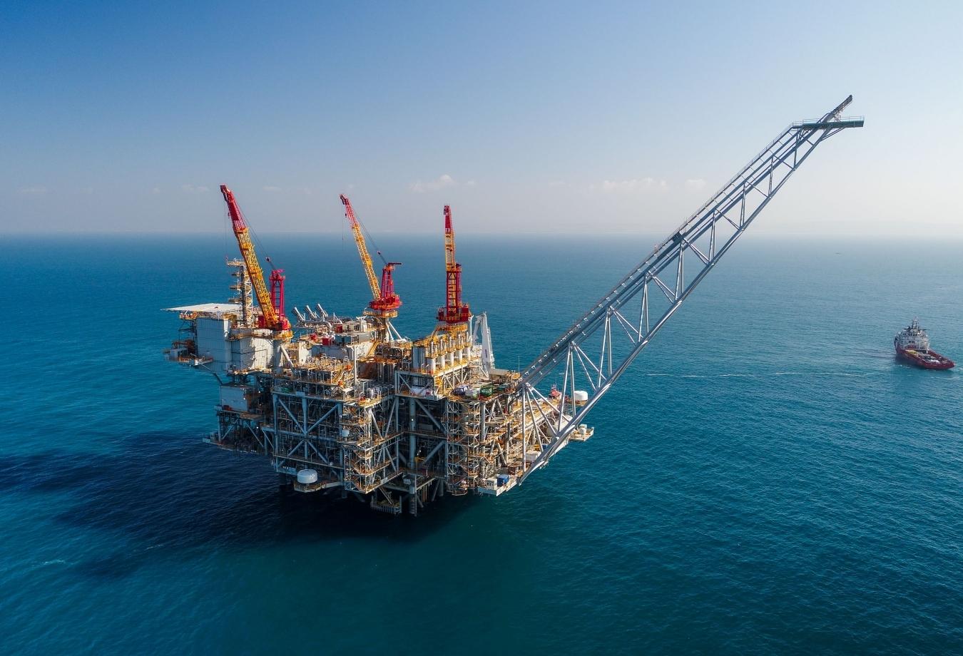 Chevron trúng thầu bảo trì các hoạt động khai thác khí đốt ngoài khơi Israel