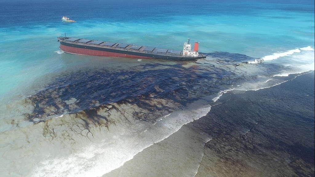 Sự cố tràn dầu sau bão Ida