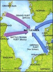 """""""Những trận hải chiến nổi tiếng thế giới"""": Hải quân Anh - Đức và cuộc chạm trán lịch sử ở Jutland"""