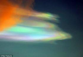 Mây xà cừ - hiện tượng lạ của thiên nhiên