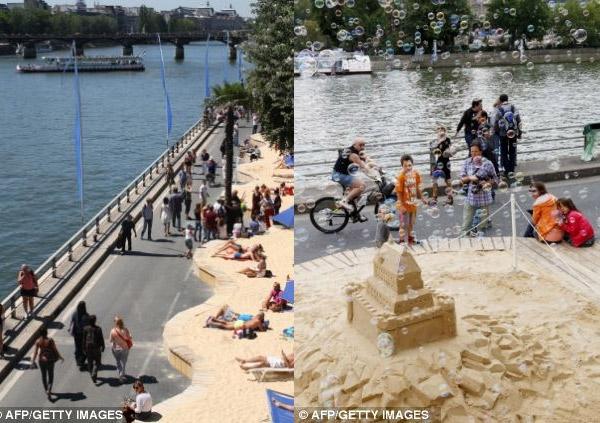 Pháp: Sẽ bị đi tù nếu tắm nắng khỏa thân bên bờ sông Seine