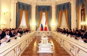 Khai mạc kỳ họp 15 Ủy ban liên Chính phủ Việt – Nga