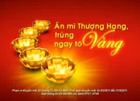 Vui như... quảng cáo mì gói ở Việt Nam