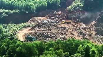 Khai thác đất lậu, 2 công ty Lũng Lô và Sông Lô bị phạt trên 730 triệu đồng