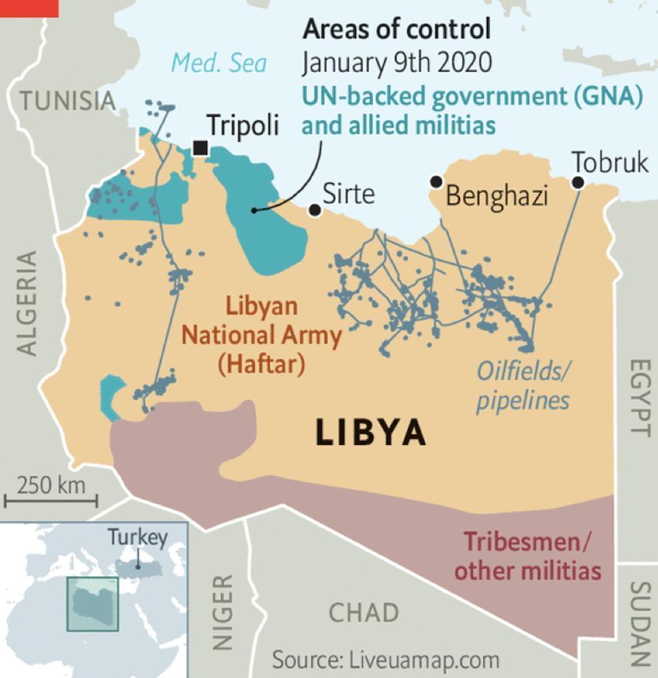 """Các công ty dầu khí Nga có nên tiếp tục """"phiêu lưu"""" tại Libya?"""