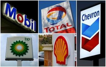ExxonMobil, BP, Shell, Chevron và Total ghi nhận khoản lỗ kỷ lục trong năm 2020