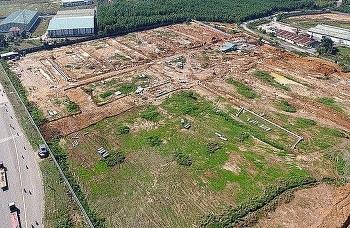 dong nai thu hoi 30000 m2 dat xay khu tai dinh cu san bay long thanh