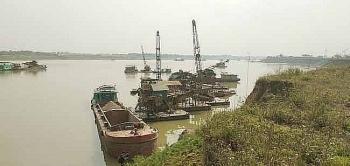 Phú Thọ: Một cá nhân bị xử phạt hơn 650 triệu đồng vì khai thác cát trái phép