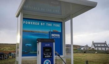 Trạm sạc xe điện từ năng lượng thủy triều